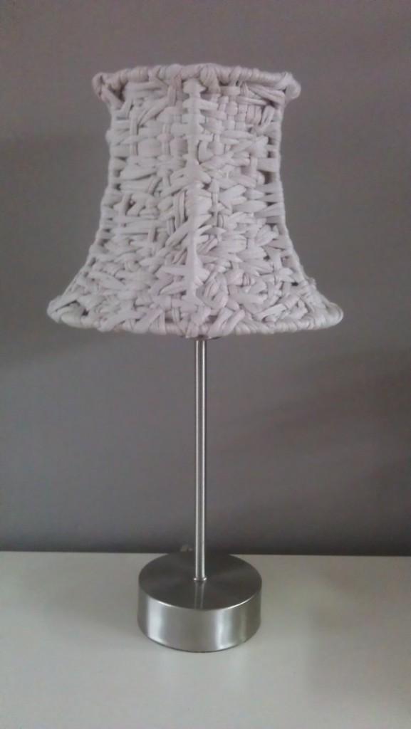 Pantallas tejidas para lmparas de mesa o pie  El blog de