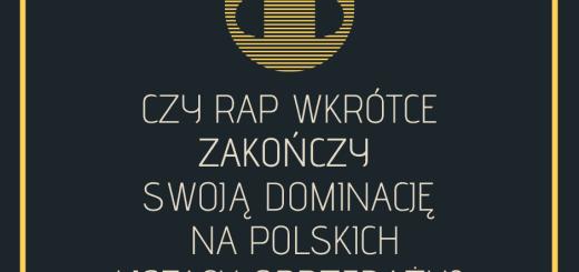 Czy rap wkrótce zakończy swoją dominację na polskich listach sprzedaży_