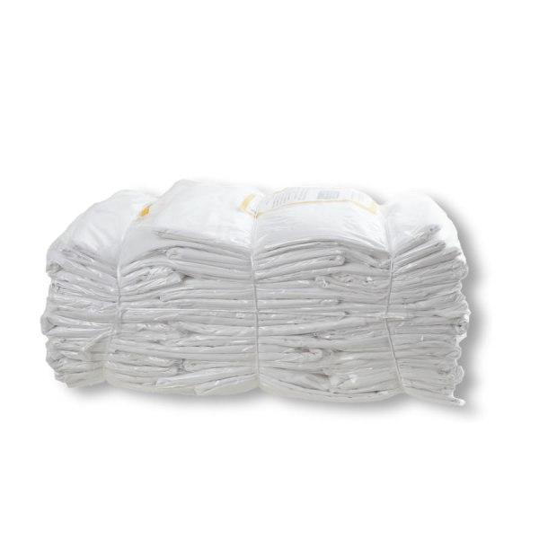 Trapos de limpieza de sábana blanca algodón 100% fabricados por Trapos Los Pozicos