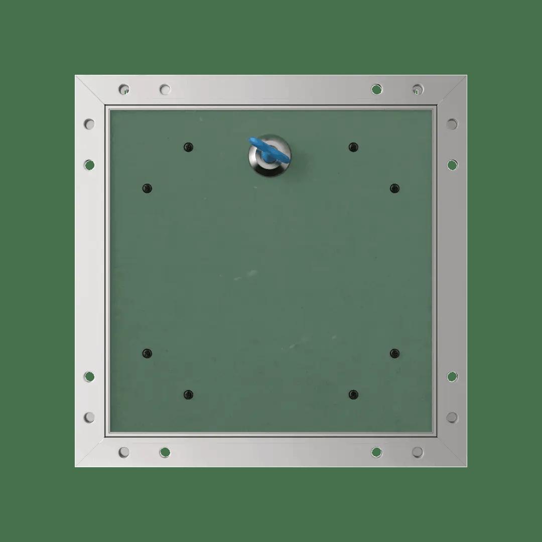 Trappe de visite plaque de plâtre 15 mm Eco Star trape de visite plaque de platre alustar 4 pans