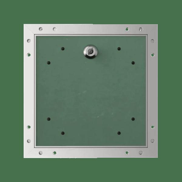 Accueil trape de visite plaque de platre alustar cle cylindrique