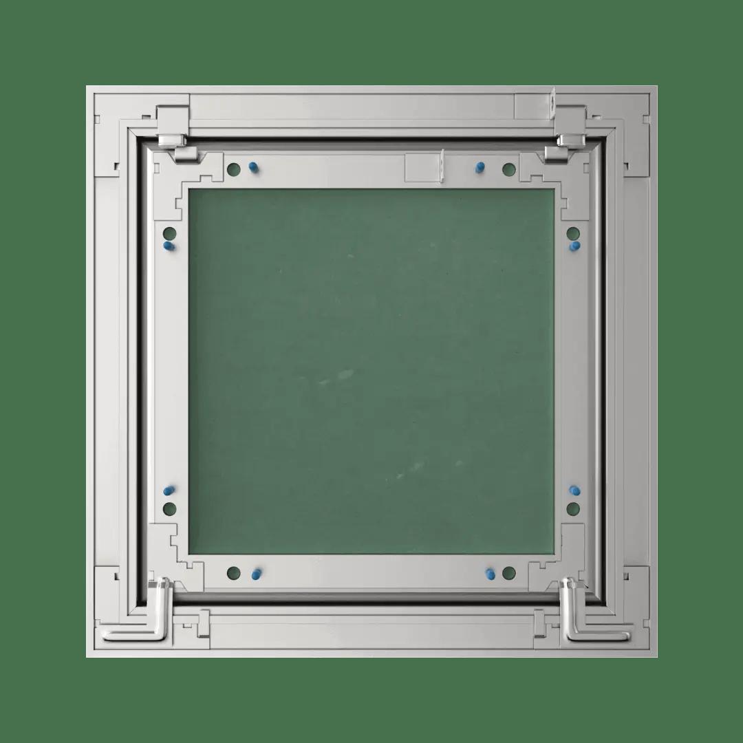 Trappe de visite plaque de plâtre 15 mm Eco Star trappe de visite plaque de platre alustar pousser lacher derriere