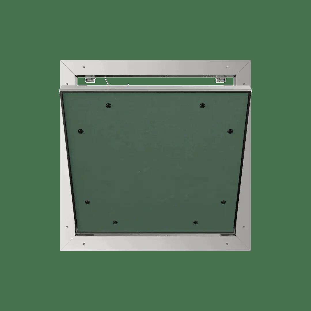 Trappe de visite plaque de plâtre 15 mm Eco Star trappe de visite plaque de platre alustar pousser lacher ouvert