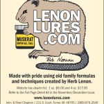 Welcome New Advertiser, Lenon Lures!