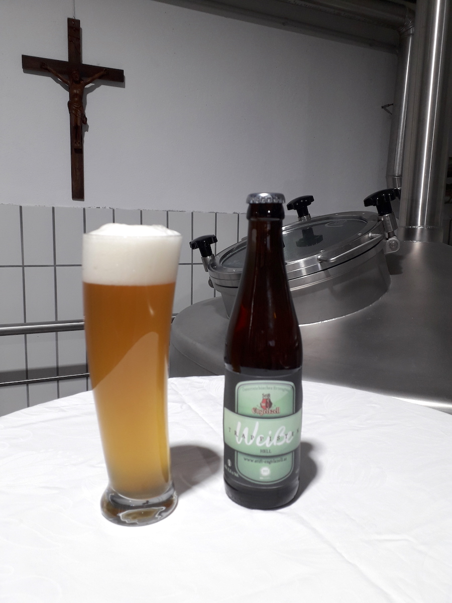Internationale Vereniging Trappist Engelszell Trappist Weiße Hell Gets Atp Label