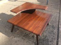 Vintage Bissman Two Tier End Table Mid-Century Modern ...