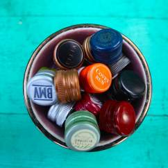 Kitchen Magazines Cost To Replace Cabinets What Do With Metal Screw Caps From Glass Bottles ...