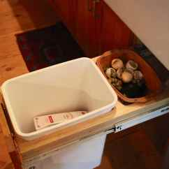 Kitchen Compost Container Amish Table Diy Trash Backwards Blog Design Your Cupboard So You Can Hide The C Liesl Clark