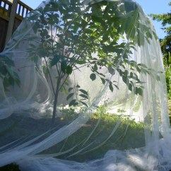 Curtains Kitchen Hutches Reusable Garden Netting | Trash Backwards Blog