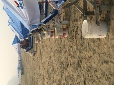 Beach Trash Can