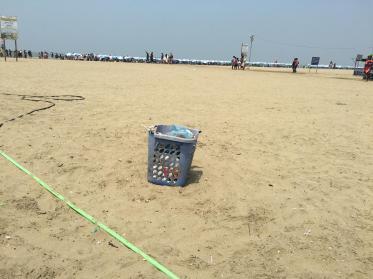 Beach Trash Cans (4)