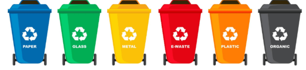 Characteristics of Trash Cans