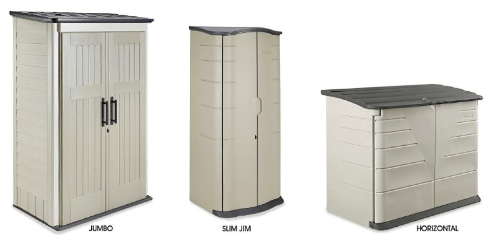 Exterior Outdoor Garbage Can Storage