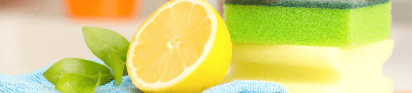 Deodorize Your Trash Can with Lemon
