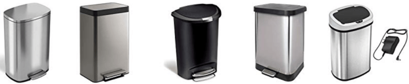 10 Best 13 Gallon Trash Can