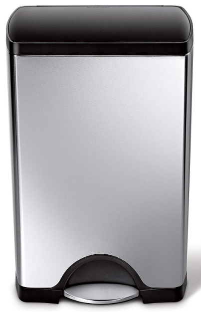 simplehuman 10 gallon trash can