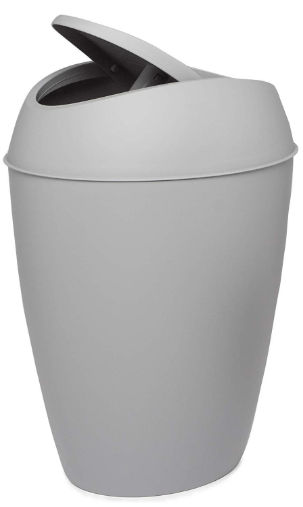 bathroom trash can
