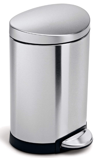 simplehuman 6 liter trash can