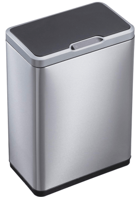 13 gallon automatic trash can