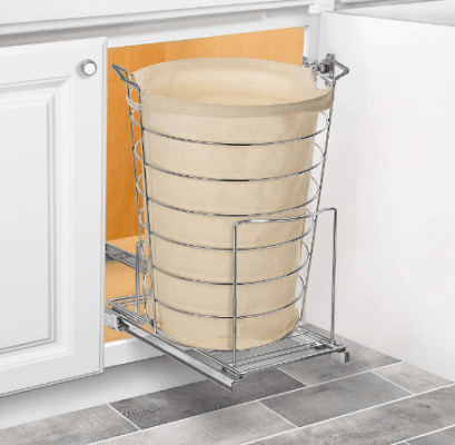 pull out kitchen garbage can