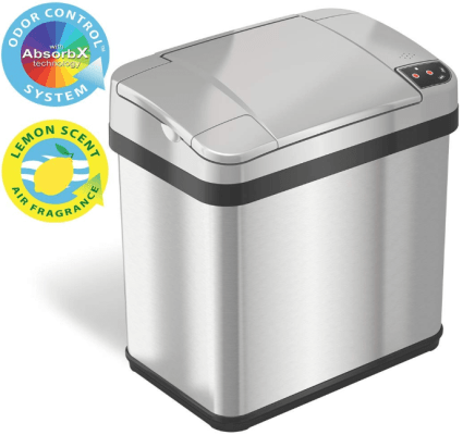 best trash can for odor control