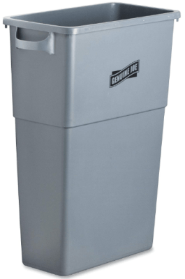best plastic trash can