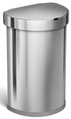 simplehuman touchless trash can