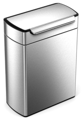 simplehuman trash can dual