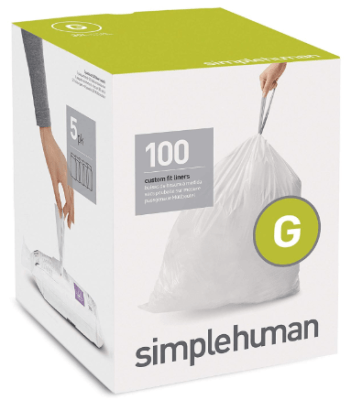 simplehuman trash can liners g