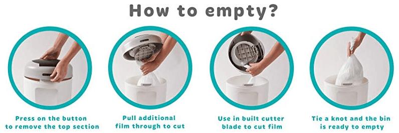 Tommee Tippee Simplee Diaper bin Refill