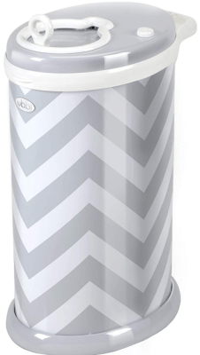ubbi diaper pail grey