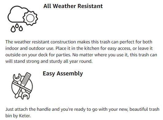 wicker trash can