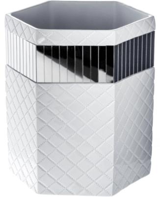 decorative bathroom trash can