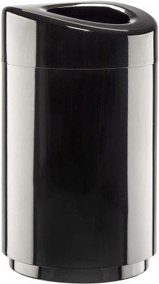 Safco Products Open Top Trash Receptacle with Liner