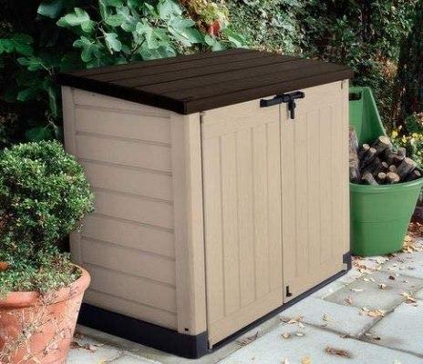 resin outdoor garbage storage