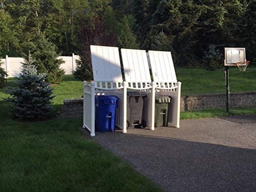 Outdoor Garbage Can Enclosure