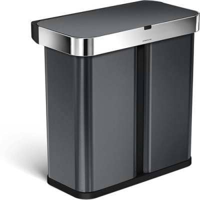 automatic waste sorting bin