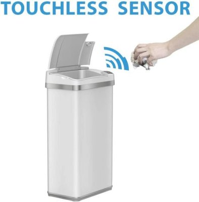 touchless teash can