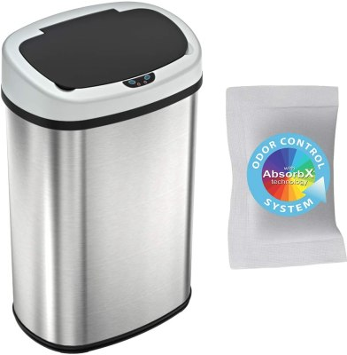 iTouchless 13 Gallon SensorCan Touchless Trash Can