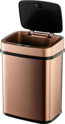 ninestar rose gold trash can