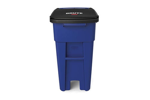 rubbermaid trash can