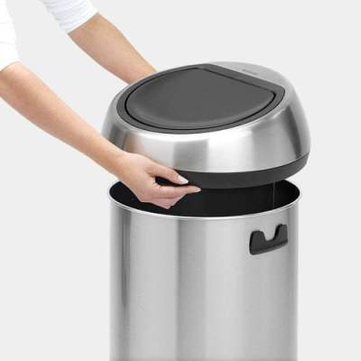 Brabantia Touch 16 gallon Trash Can