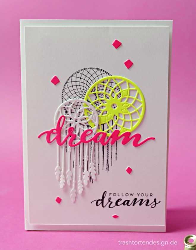 Stampinup_follow your dreams_traumfänger_neon_geburtstag