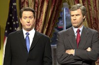 Will Ferrell played George W Bush on SNL