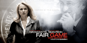 Fair Game stars Naomi Watts and Sean Penn