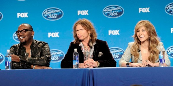 Randy Jackson, Steven Tyler and Jennifer Lopez are judges on the 10th season of American Idol