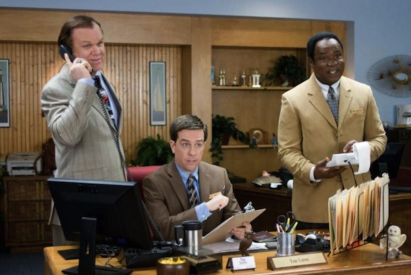 From left: John C. Reilly, Ed Helms, and Isiah Whitlock Jr. in CEDAR RAPIDS Photo Credit: Zade Rosenthal TM and © 2010
