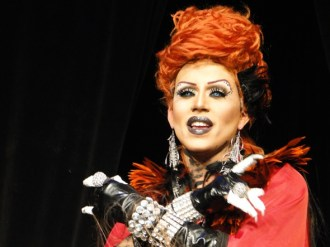 Yara Sofia performs in Denver at the first show in the RuPaul's Drag Race tour