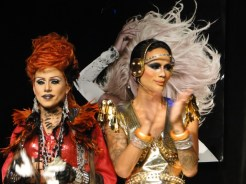 Yara Sofia and Raja in Denver at the first show in the RuPaul's Drag Race tour