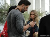 Joe Manganiello and Kristen Bauer van Straten at Comic Con 2013